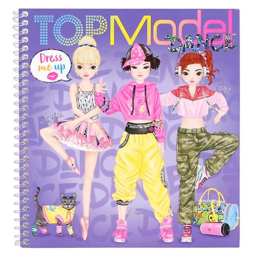 Top Model Dress Me Up Activity Book - Dance