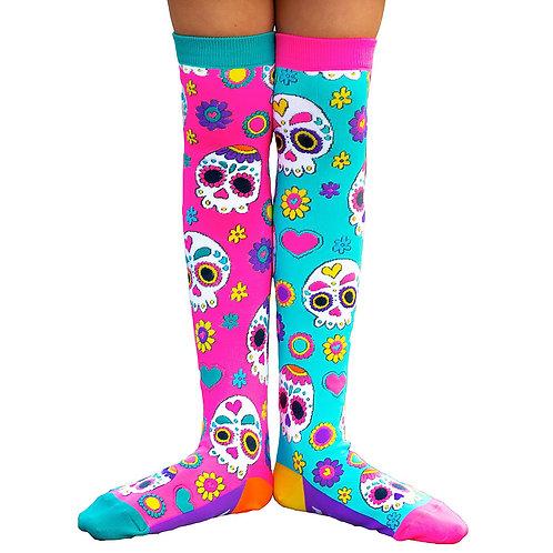 Mad Mia Sugar Skulls Socks
