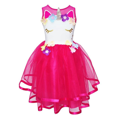 Pink Poppy Unicorn Dress