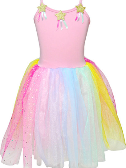 Pink Poppy Rainbow Dress