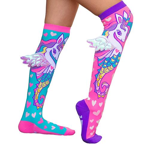 Mad Mia Sea Horse Socks