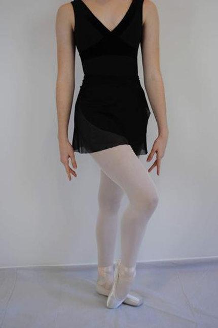 """AinslieWear 15"""" Wrap Skirt in Mesh"""