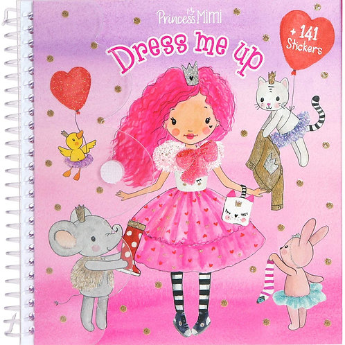 Princess Mimi Dress Me Up Activity Book