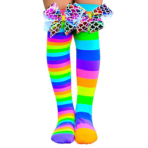 Mad Mia Bows to Toes Socks
