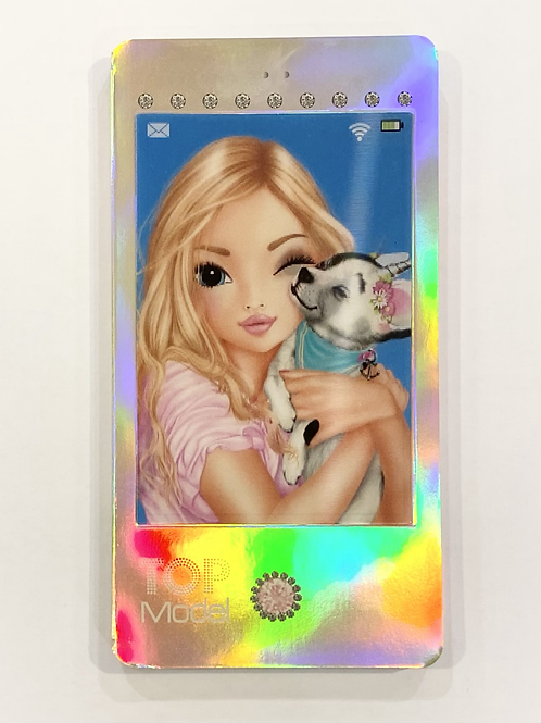 Top Model Picture Changing Phone Notebook - Puppy