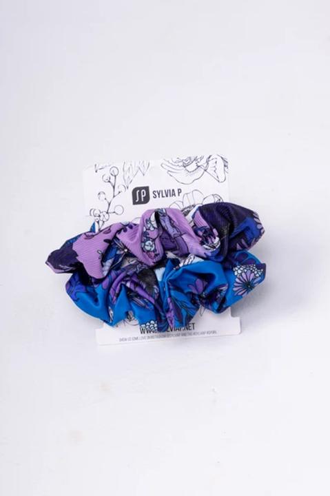Sylvia P Beach Safari Scrunchie 2 Pack
