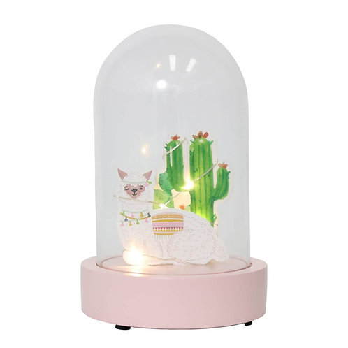 Splosh Furry Little Friends Light Up Dome - Llama