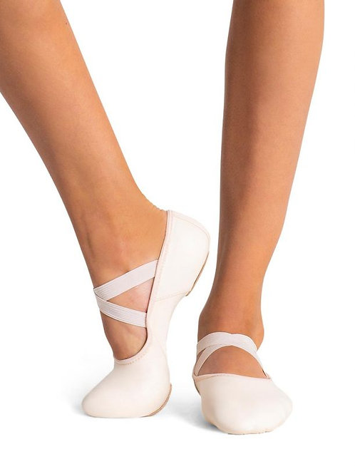 Capezio Hanami Leather Split Sole Ballet Shoe - Adult
