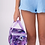 Thumbnail: Sylvia P Periwinkle Bloom Insulated Lunch Bag