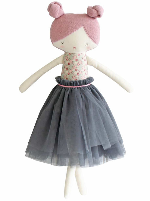 Alimrose Colette Doll - Grey and Rose