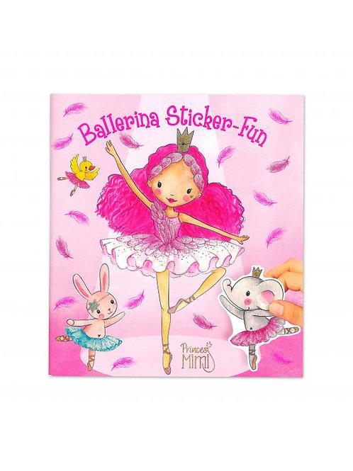Princess Mimi Ballerina Sticker-Fun