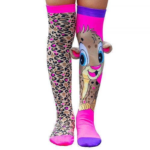 Mad Mia Cheeky Cheetah Socks