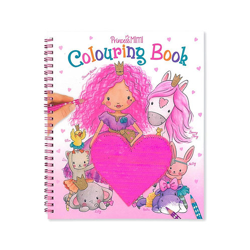 Princess Mimi Coluring Book