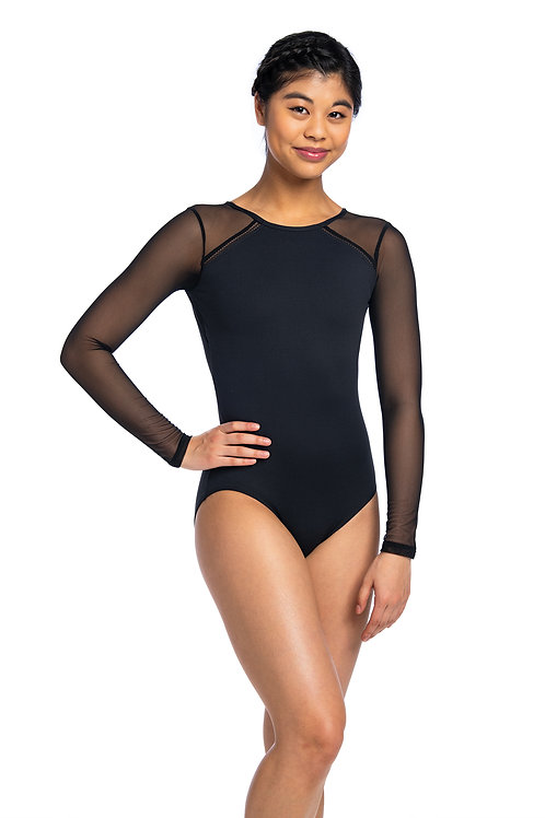 Ainsliewear Marcella with Mesh Leotard