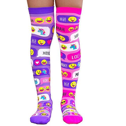 Mad Mia Snapchat Socks