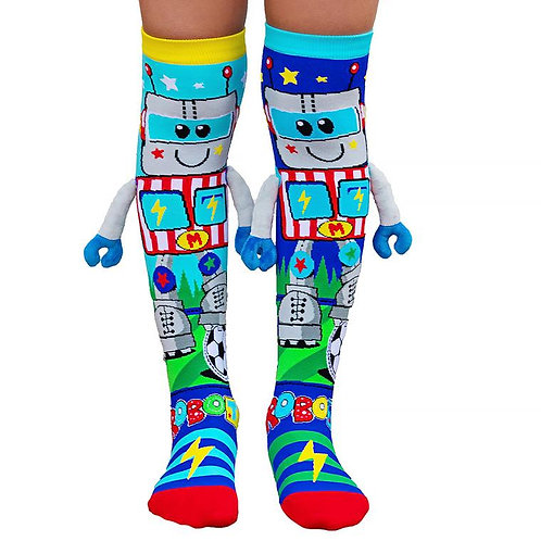 Mad Mia Robot Socks