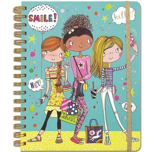 Rachel Ellen Notebook - Selfie