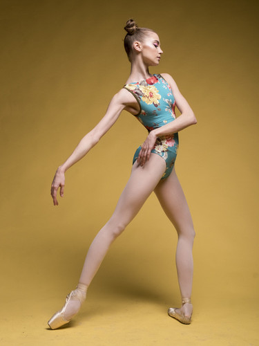 Louise Holiday Bouquet Leotard