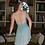 Thumbnail: Eleve Allison Misty Blue Lace Leotard