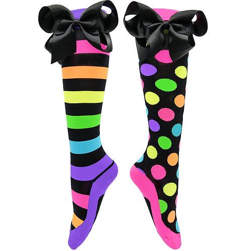 Mad Mia Liquorice Bow Socks
