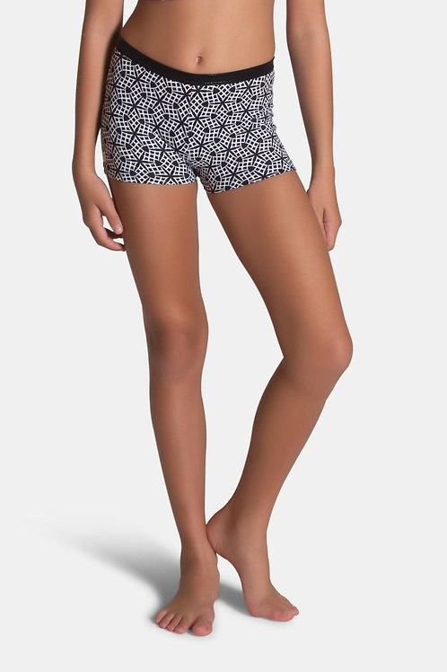 Sylvia P Monochrome Short