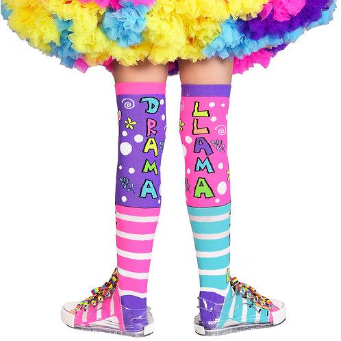 Mad Mia No Drama Llama Socks