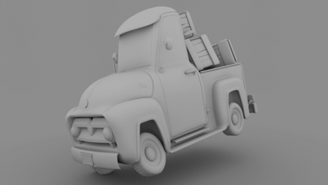 Responsible for all aspects. Based on a truck concept by Azamat Khairov  -   Maya,