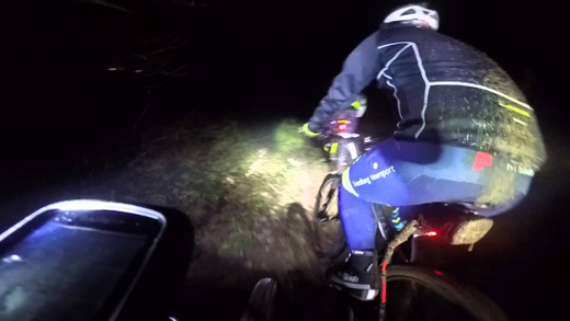 Night Ride med TMCK Januar ´16