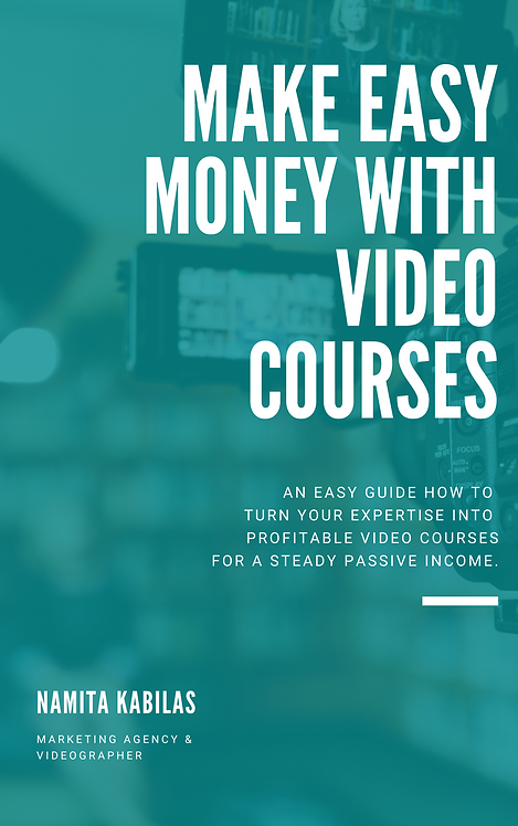 Make Easy Money with Video Courses