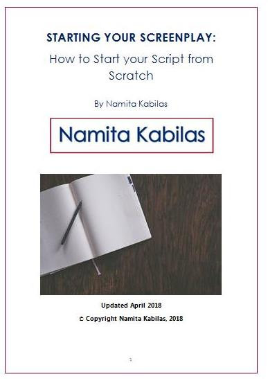 HOW TO START YOUR SCRIPT FROM SCRATCH (e-book)