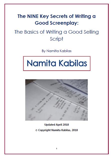 THE NINE KEY SECRETS OF WRITING A GOOD SCREENPLAY (e-book)