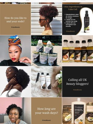 Social Media Campaign for Primal Beauty Natural