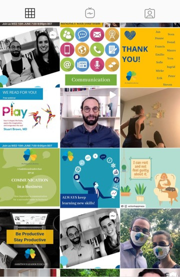 Social Media Campaign created for The Happiness Factory