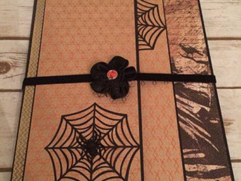 Vintage Halloween Handmade Photo Folio/Mini Album