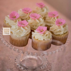 Pink & Gold Sparkle Cupcakes