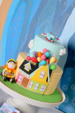 Up Theme Cake