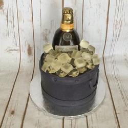Hennessy Ice Bucket Cake