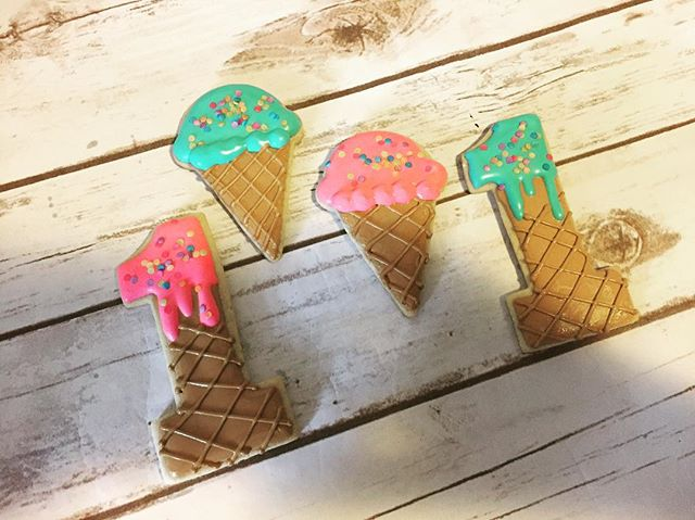 Ice Cream Cookies #cookies #cookier #coo
