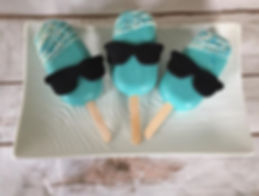 Breakfast at Tiffany's Inspired Cakesicl