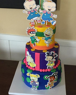 Rugrats Cake- soo I guess they are makin