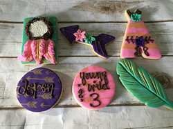 Boho Cookies made for _hazybabyy #cookie