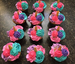 Unicorn Cupcakes- a slightly different t