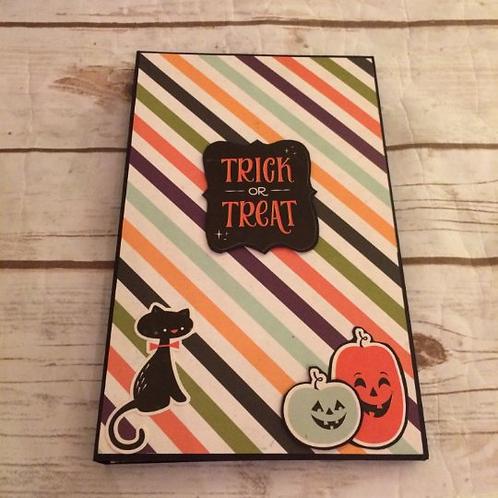 Halloween Theme Photo Folio/Mini Album