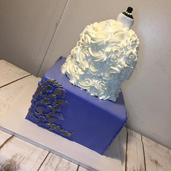 Bridal Shower Cake #cake #wiltoncakes #f