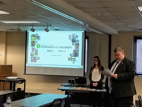 Child sex abuse prevention focus of training for Maryland