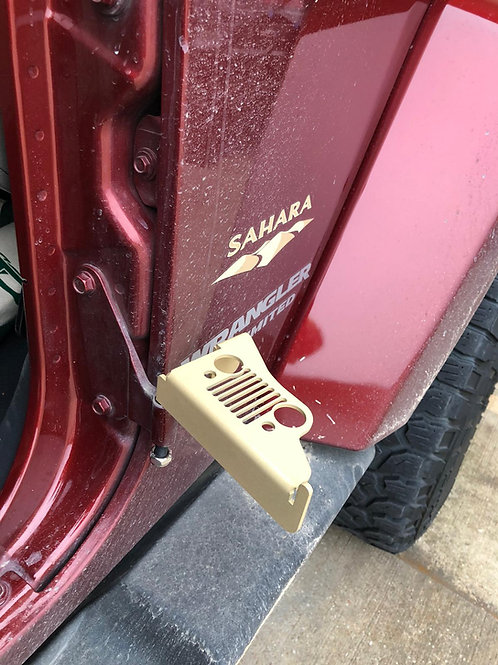 Jeep Wrangler JK Foot Pegs