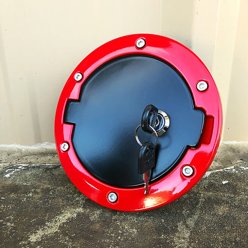 Two-Tone Jeep Wrangler JK Locking Gas Cap