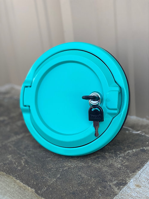 Locking Jeep Wrangler JL Gas Cap