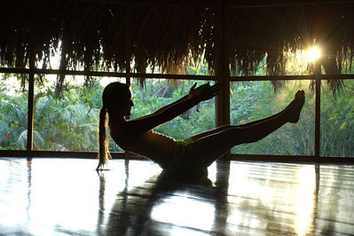 Love of Nourishment - Love of yoga with sunset