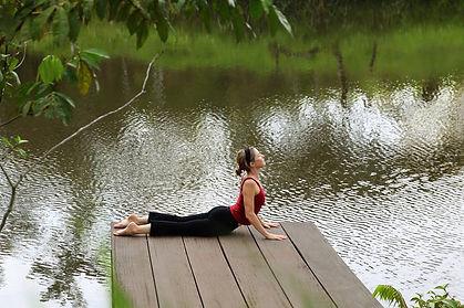 Yoga Retreat - Tambo Ilusion - yoga practice
